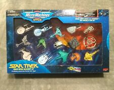Vintage 1993 Micro Machines Star Trek Limited Edition Collectors Set